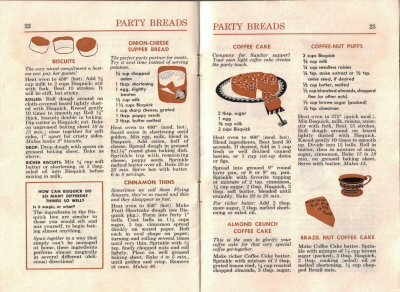 Pages 22 & 23 - Party Breads - Click To View Larger