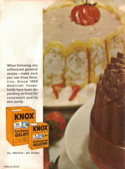 Back Cover Of Fabulous Foods That Are Fun To Fix - Knox Gelatine