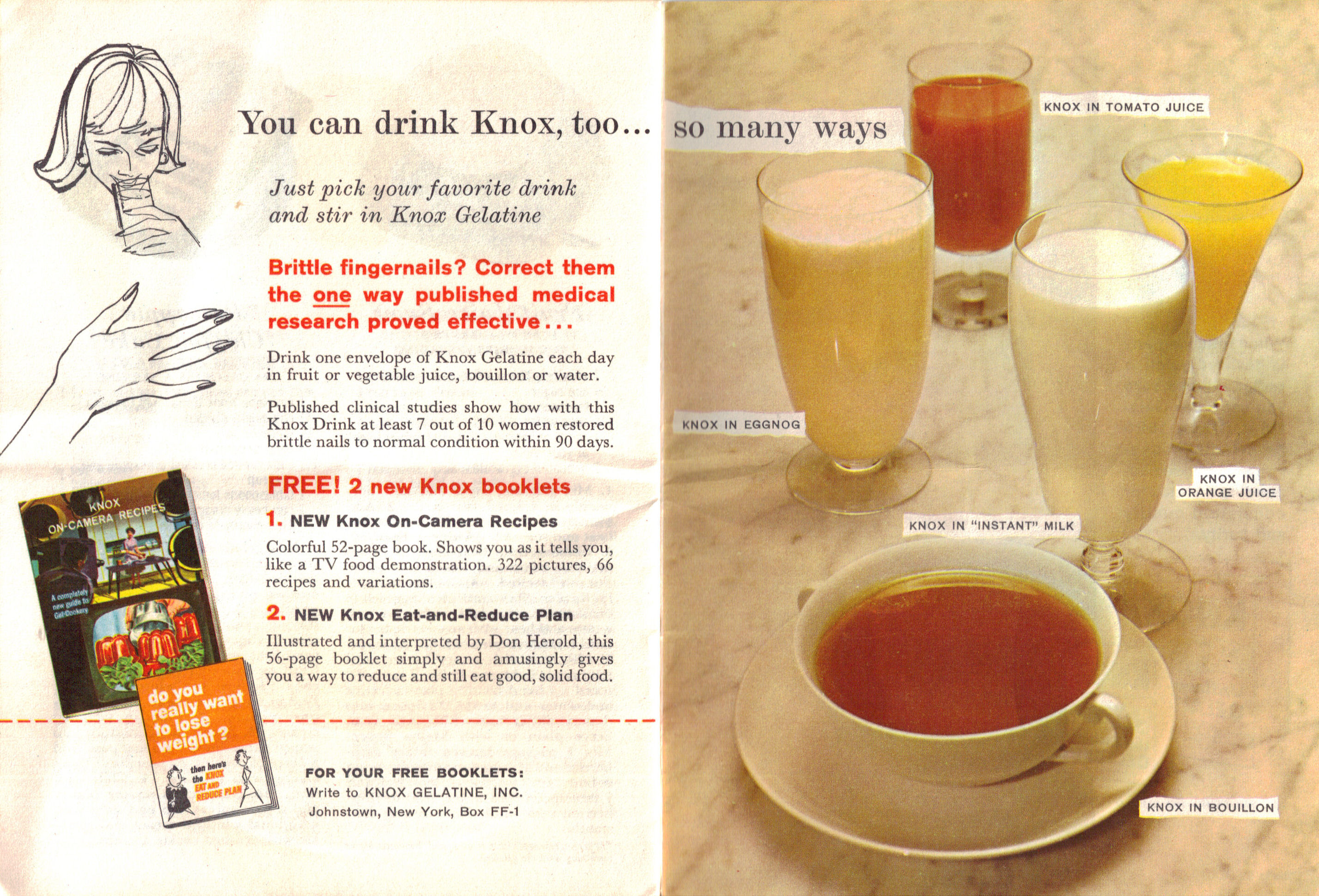 You Can Drink Knox Too – Fabulous Foods That Are Fun To Fix ...