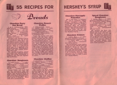 55 Recipes For Hershey's Syrup - Breads - Click To View Larger