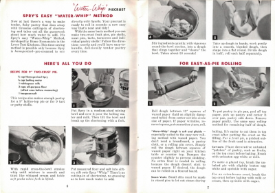 Pages 6 & 7 - Spry's Easy Water-Whip Method - Click To View Larger