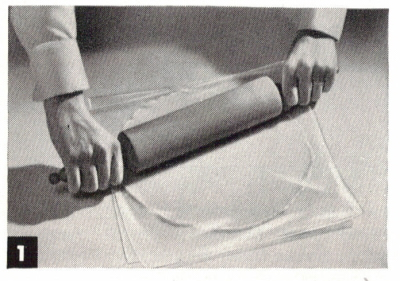 Roll Dough Between Squares Of Waxed Paper