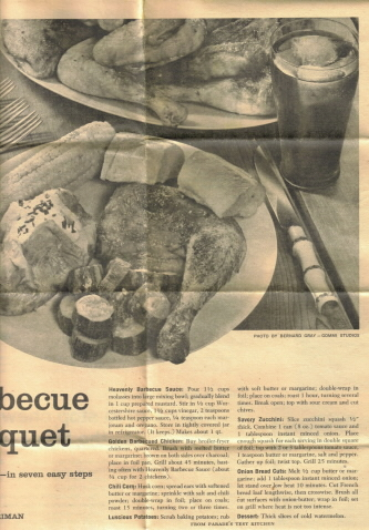 Vintage Barbecue Recipes