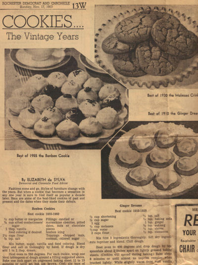 Cookies - The Vintage Years - Article
