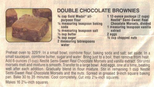 Double chocolate brownies recipe recipecurio double chocolate brownies recipe forumfinder Images