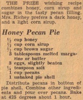 honey date and pecan tart recipe dishmaps pecan pie summer fig tart ...