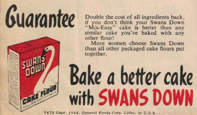 Swans Down Guarantee (1944)
