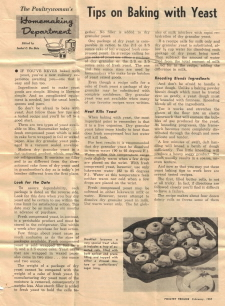 Tips On Baking With Yeast - Click To View Larger