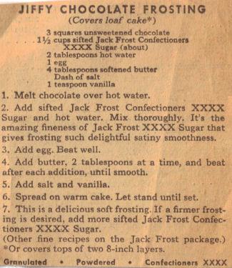 Jiffy cake mix chocolate