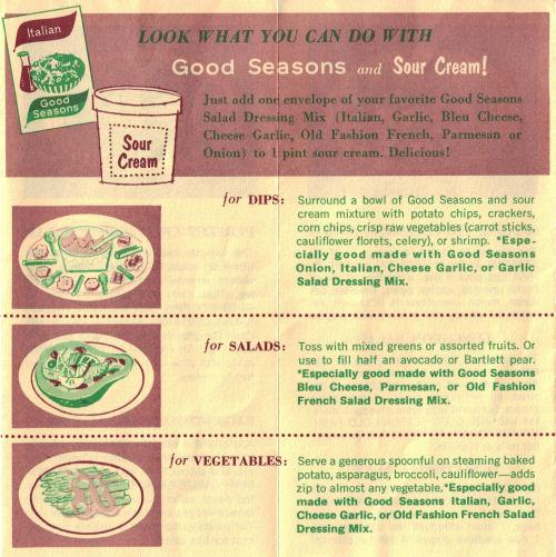 Sour Cream Recipe Ideas