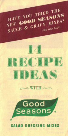 14 Recipe Ideas With Good Seasons - Cover