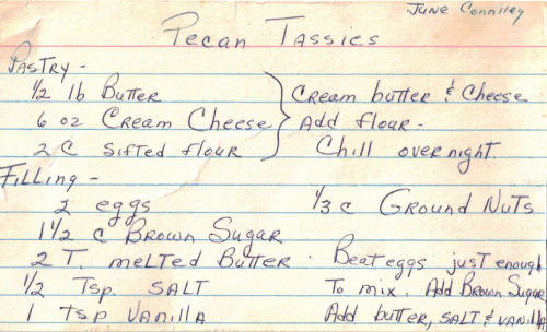 Tassies chicken recipe