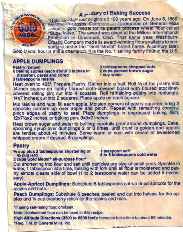 Chocolate Chip Cookie Recipe Gold Medal Flour