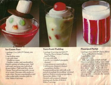 Jello Kid's Stuff Dessert Recipes - Click To View Large