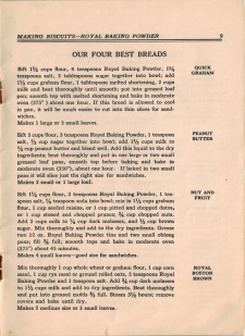 Four Best Breads - Click To View Larger