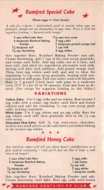 Rumford Sugarless Recipes - Click To View Large