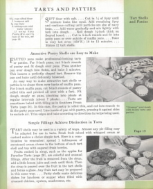Tarts & Patties - Spry: What Shall I Cook Today - Click To View Larger