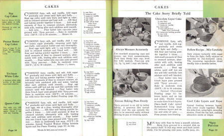 Cakes - Spry: What Shall I Cook Today - Click To View Larger