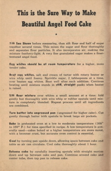 Page 10 - This is the Sure Way To Make Beautiful Angel Food Cake - Click To View Large