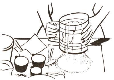Sifting Ingredients