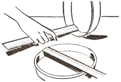 Measuring Pan Size