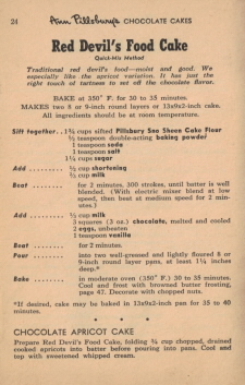 Page 24 - Red Devil's Food Cake Recipe - Click To View Larger