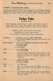 Page 25 - Fudge Cake Recipe - Click To View Larger