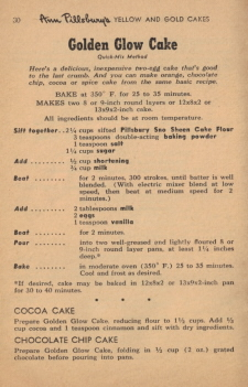 Page 30 - Golden Glow Cake Recipe - Click To View Larger