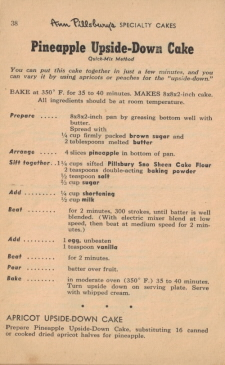 Page 38 - Pineapple Upside-Down Cake Recipe - Click To View Larger