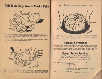 Pages 44 & 45 - This Is The Easy Way To Frost A Cake - Click To View Larger