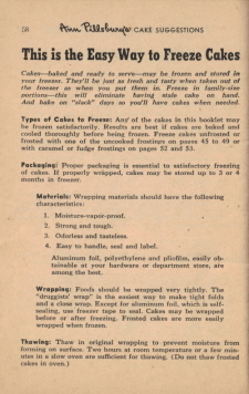 Page 58 - This Is The Easy Way To Freeze Cakes - Click To View Larger