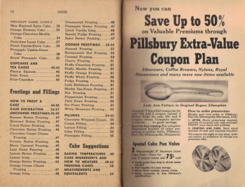 Pages 64 and 65 - Cookbook Index - Click To View Larger