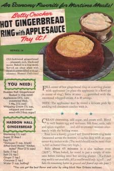Betty Crocker Wartime Meals - Series No. 14