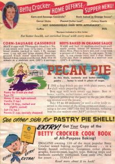 Betty Crocker Wartime Meals - Front Two