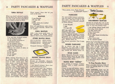 Pages 10 & 11 - Party Pancakes & Waffles - Click To View Larger