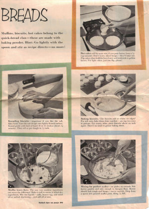 Bread Hints Vintage Magazine Article - Click To View Large