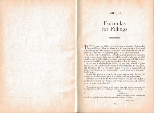 Formulas For Fillings