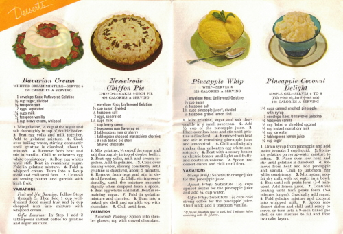 Desserts - Fabulous Foods That Are Fun To Fix - Part One