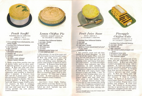 Desserts - Fabulous Foods That Are Fun To Fix - Part Two