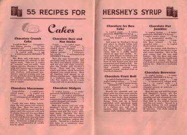 55 Recipes For Hershey's Syrup - Cakes - Click To View Larger