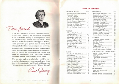 Intro - Vintage Booklet: Home Baking Made Easy - Click To View Larger