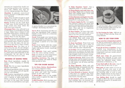 Pages 4 & 5 - Home Baking Made Easy - Click To View Larger