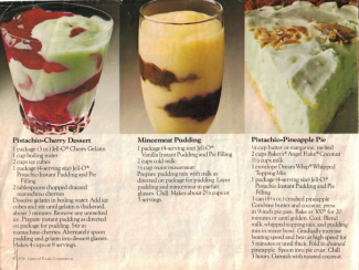 Bright, Beautiful Desserts Made Easy - Jell-0 Recipes - Click To View Larger