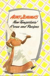 Aunt Jemima's Recipe Booklet Cover