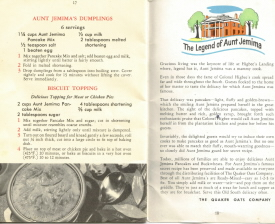 The Legend of Aunt Jemima Story - Picture