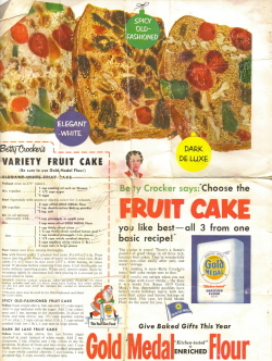 3 Responses To Betty Crockers Variety Fruit Cake Vintage Recipes
