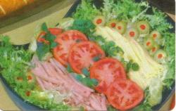 Chef's Salad Recipe Card