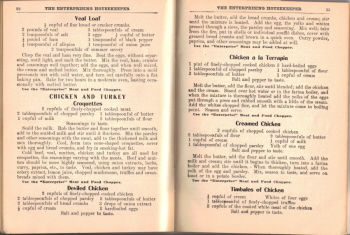 Chicken & Turkey Recipes - The Enterprising Housekeeper - Click To View Larger