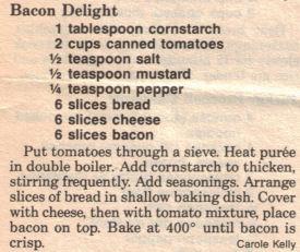 Bacon Delight Casserole Recipe