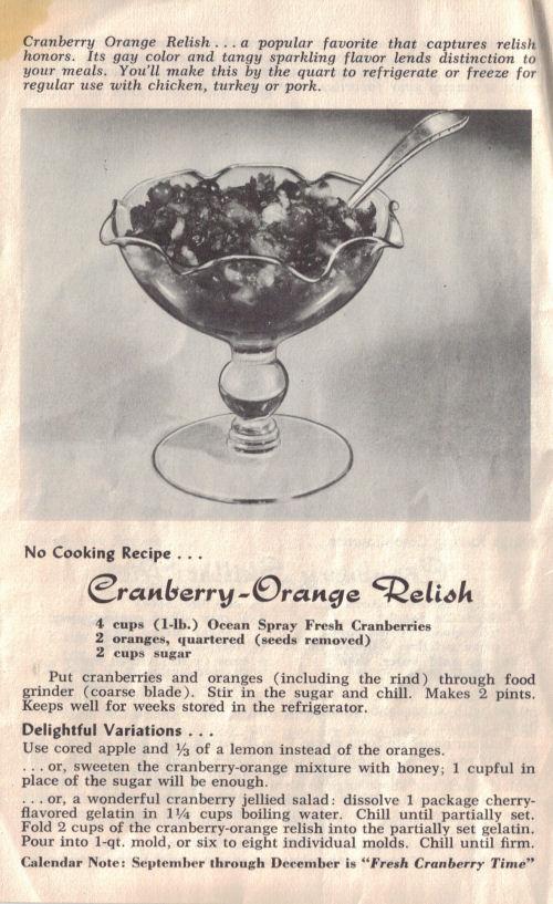 Cranberry-Orange Relish Recipe Page